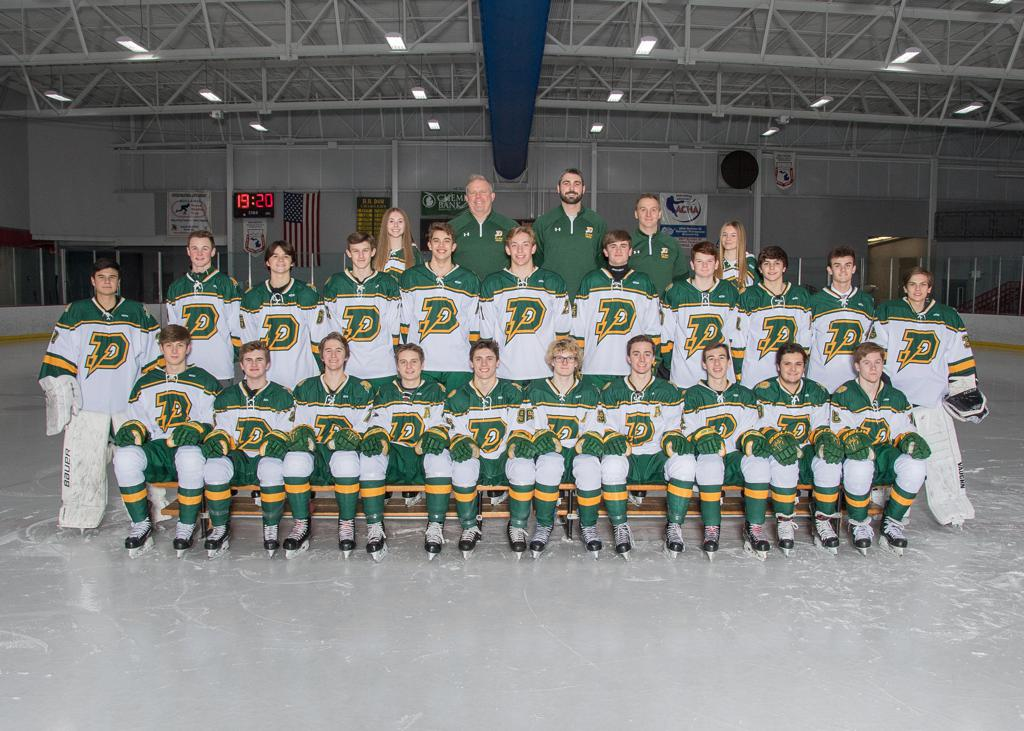 2019-2020 H.H. Dow Charger Hockey Team