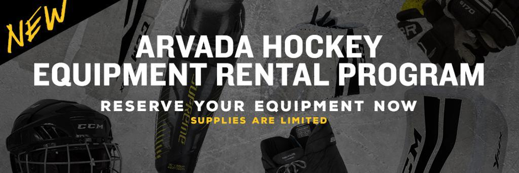 arvada hockey equipment rental