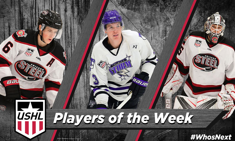 USHL: Players Of The Week - Week 10, 2018-19