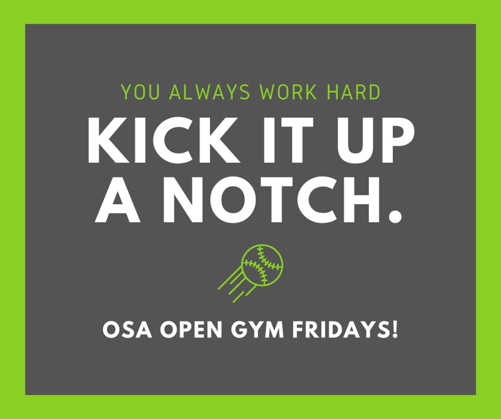 Kick it up a notch.