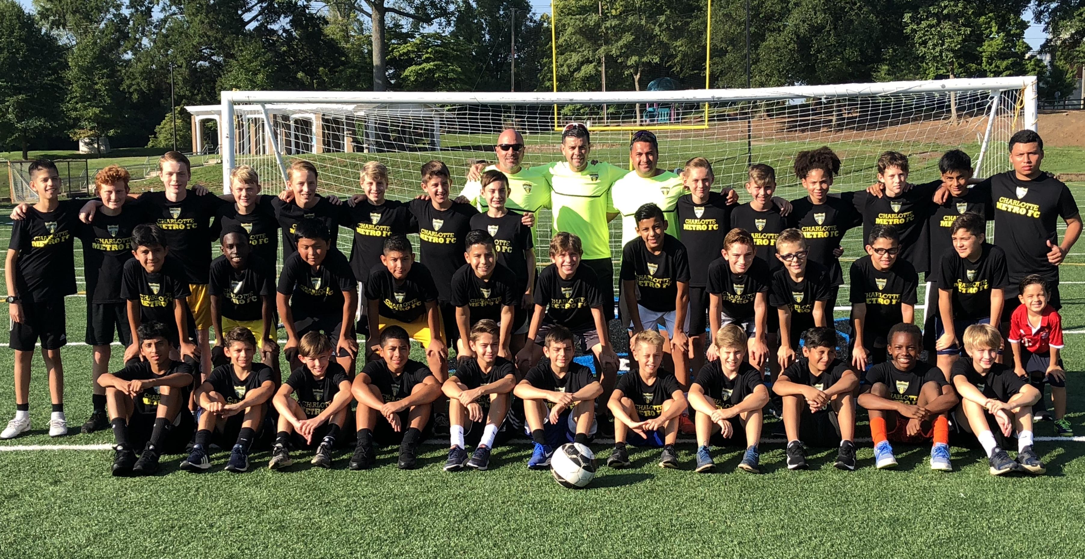 Charlotte Metro FC Preseason Camp