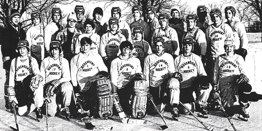 Inaugural Rosemount Hockey Team - 1970-71