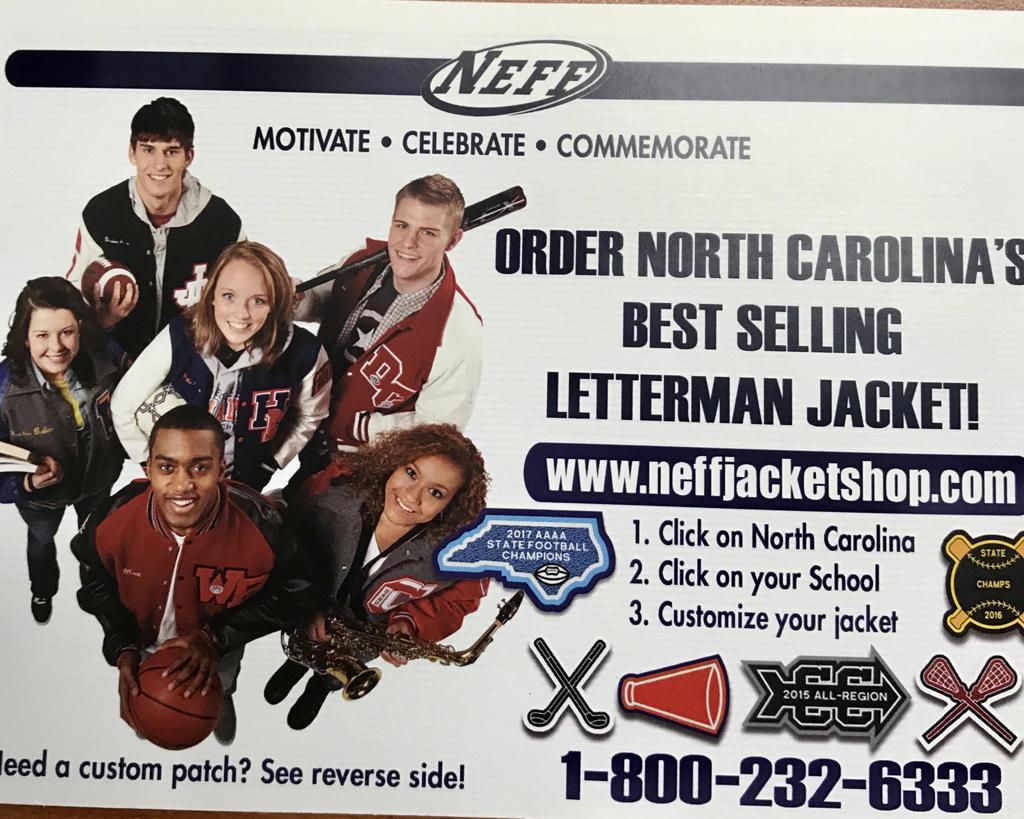 Order your Varsity Letter Jacket