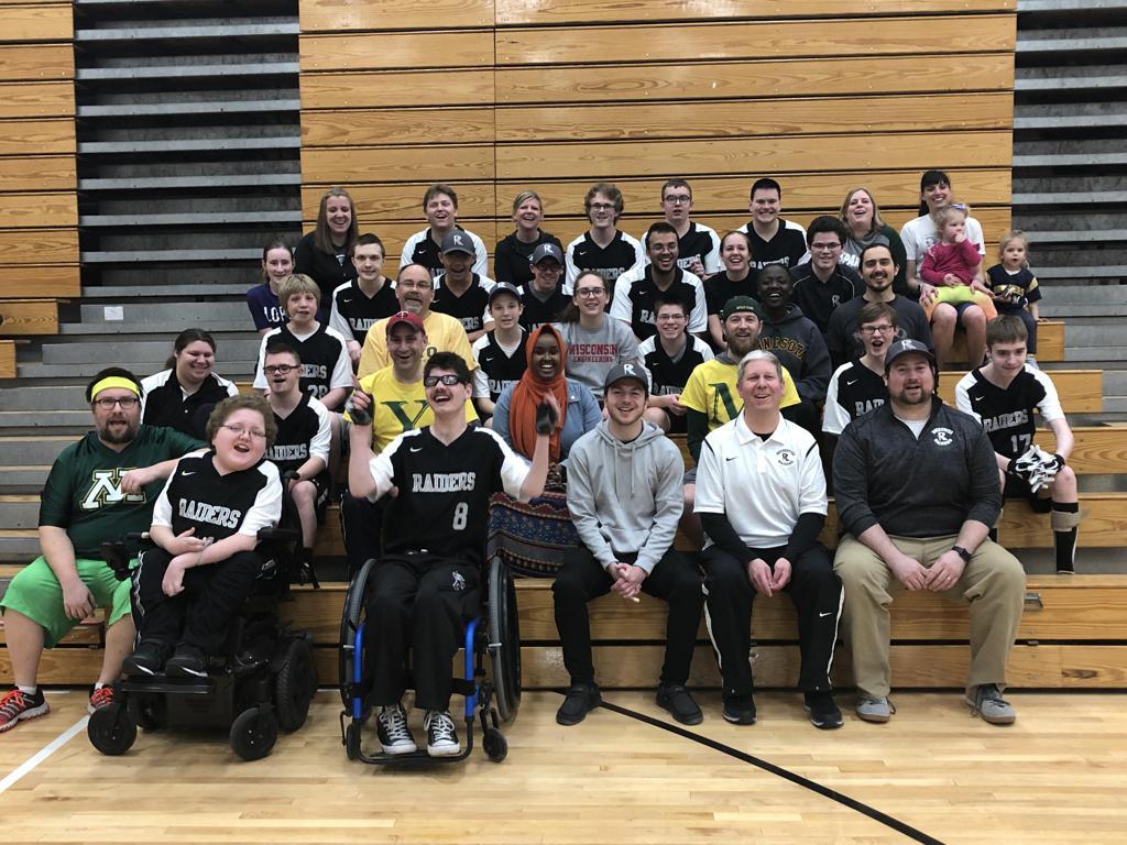 Raiders vs. Mayo High School Staff & Students