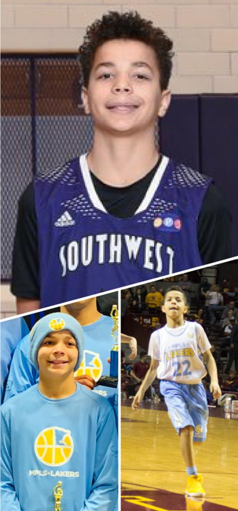 Tobias Dunn Southwest Lakers Class of 2024  Mpls Lakers 2015-2020
