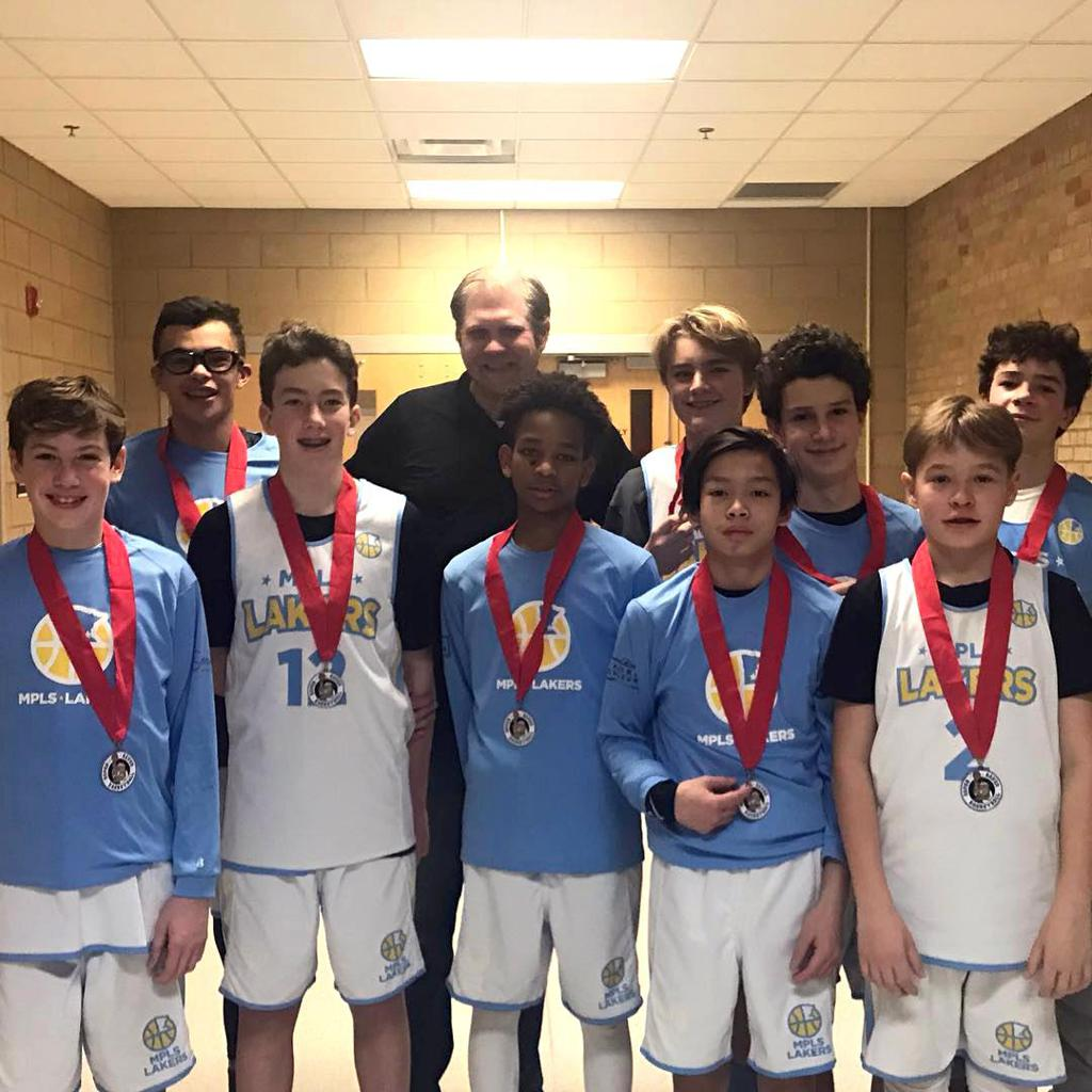 Boys 8th Grade Gold take 2nd Place at MYAS Columbia Heights. Way to go Lakers! #MplsLakers #MplsLakersBasketball