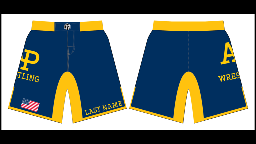 APWA 2019-2020 Fight Shorts