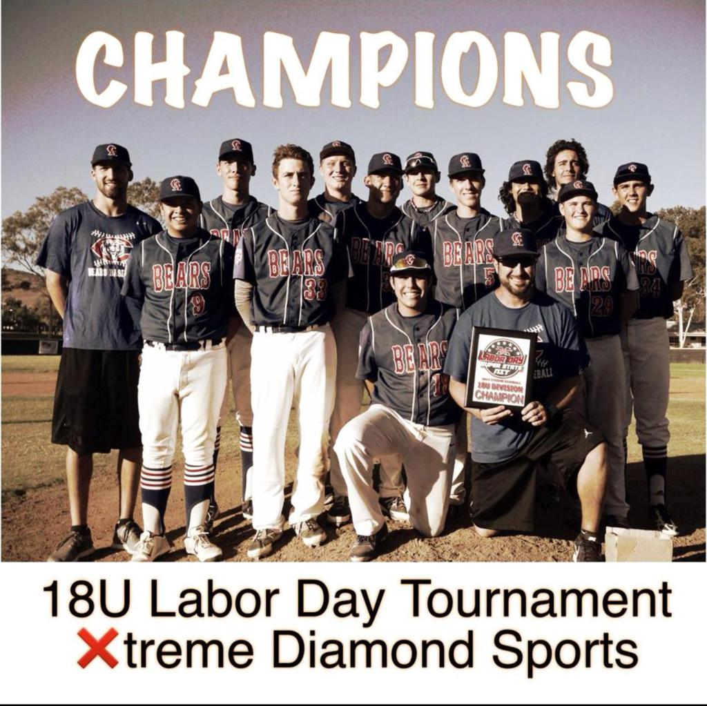 2016 18u Labor Day Champions