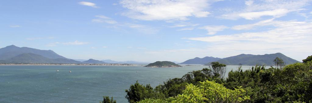 The water of IRONMAN Florianopolis 70.3
