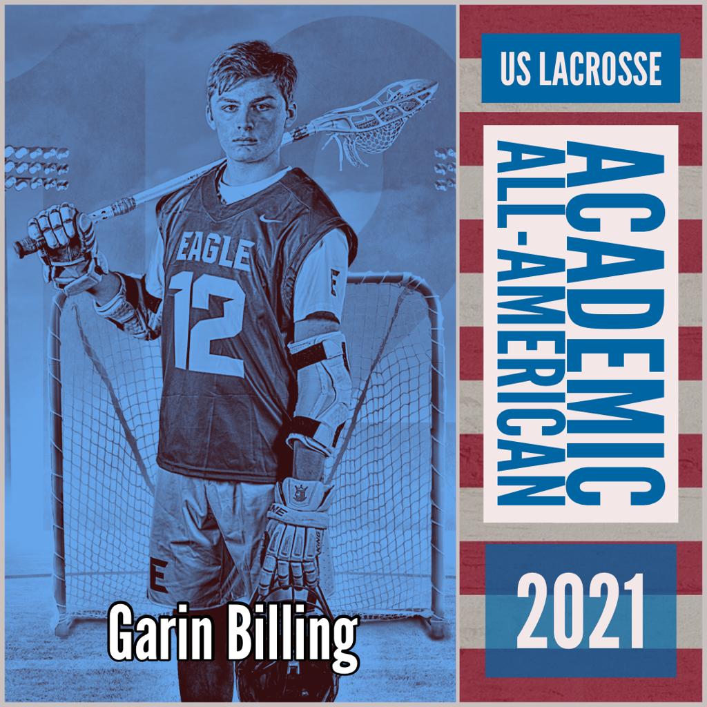 Garin Billing - US Lacrosse Academic All-American 2021