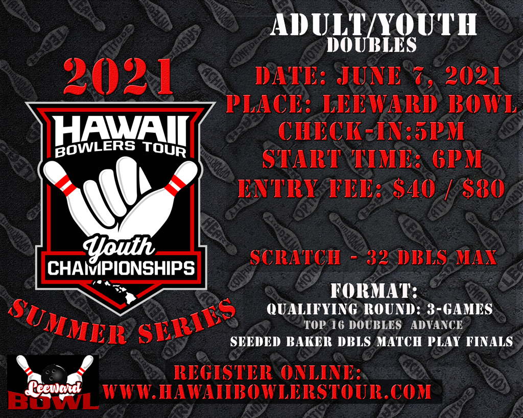 2021 HBT Summer Series Adult/Youth Doubles SCRATCH Event