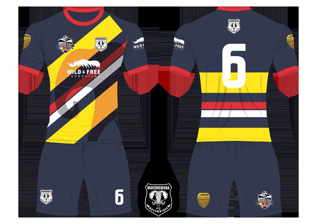 Mavungwana FC Elephants Soccer Team Kit RCCL 2019