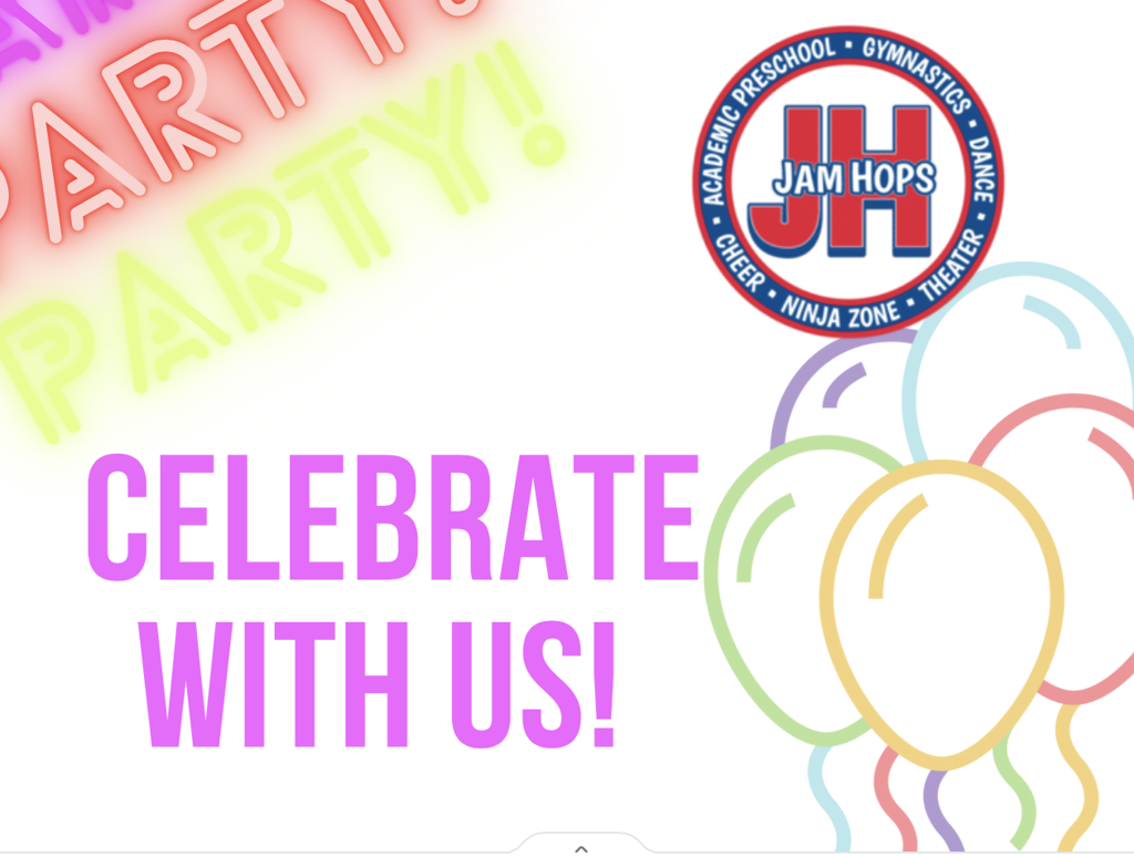Celebrate your birthday with us at Jam Hops