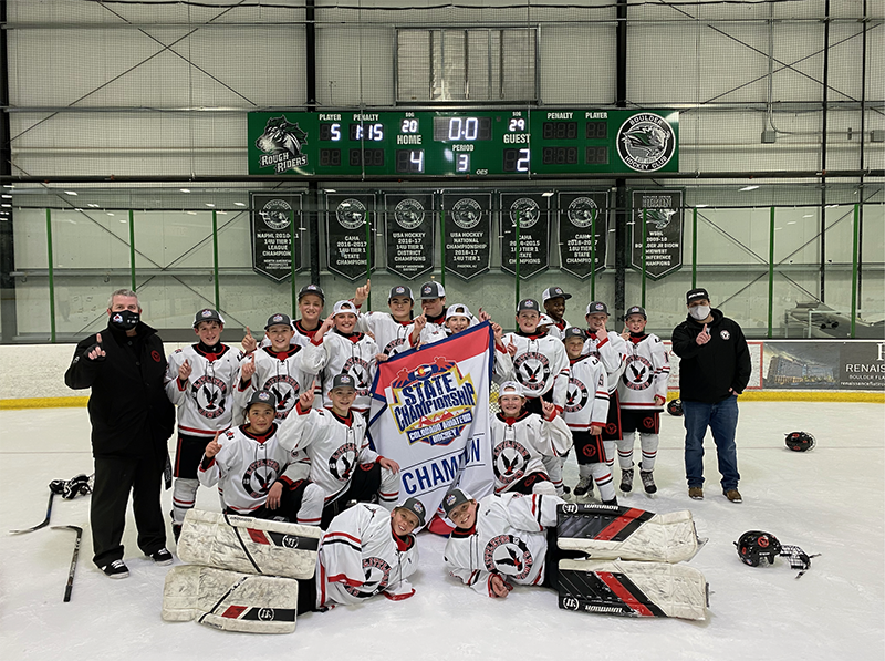 12U A champion Littleton Youth Hockey Association