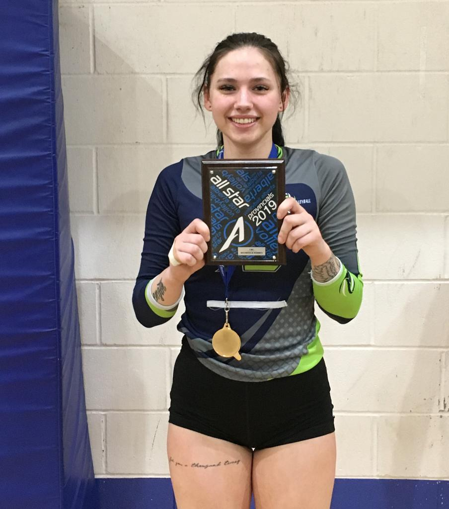 Congratulations Taylor Kyluik for being selected as team Allstar at Provincials