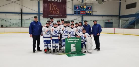 2019 Chicgao Regional Silver Stick Peewee Champions Rockford Roadrunners