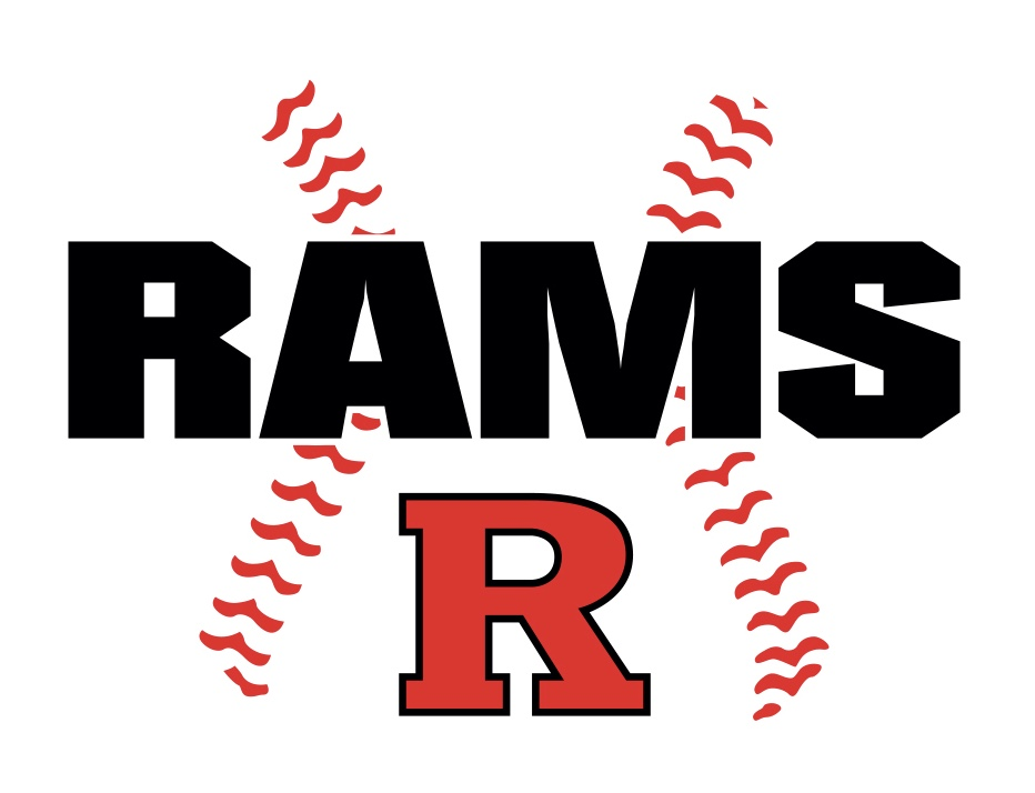 Rams Softball Logo
