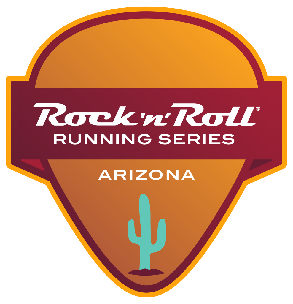 Rock 'n' Roll Arizona guitar pick logo