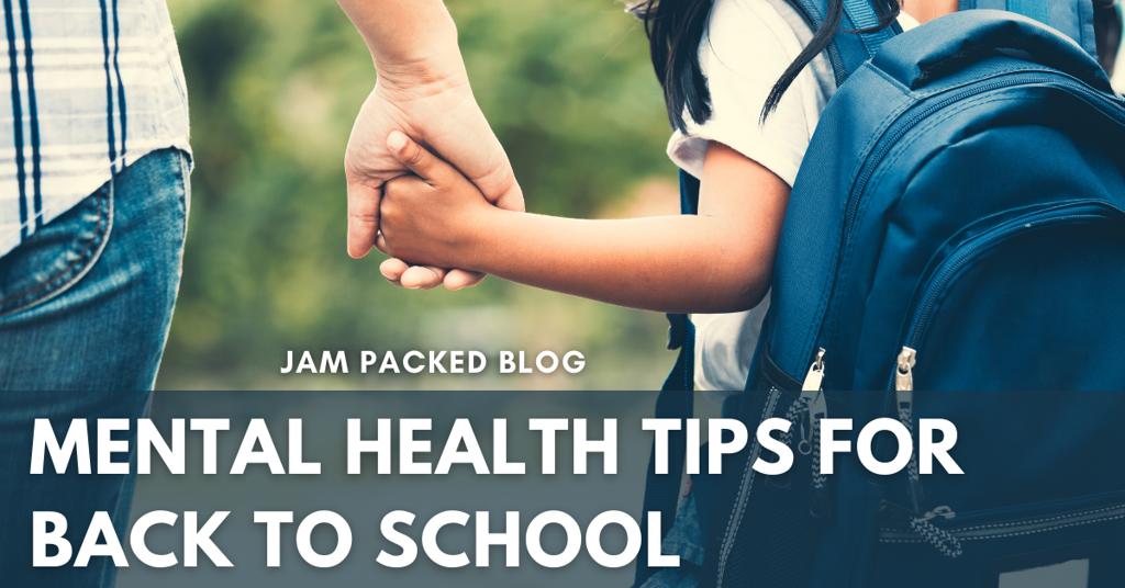 School and Mental Health Blog