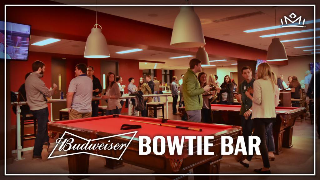 Budweiser Bowtie Bar