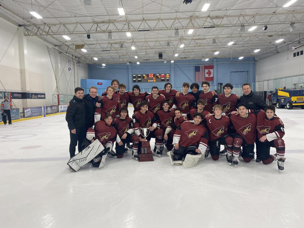 CONGRATULATIONS TO THE Jr COYOTES 16U AAA ARIZONA TIER I STATE CHAMPIONS 2020-21
