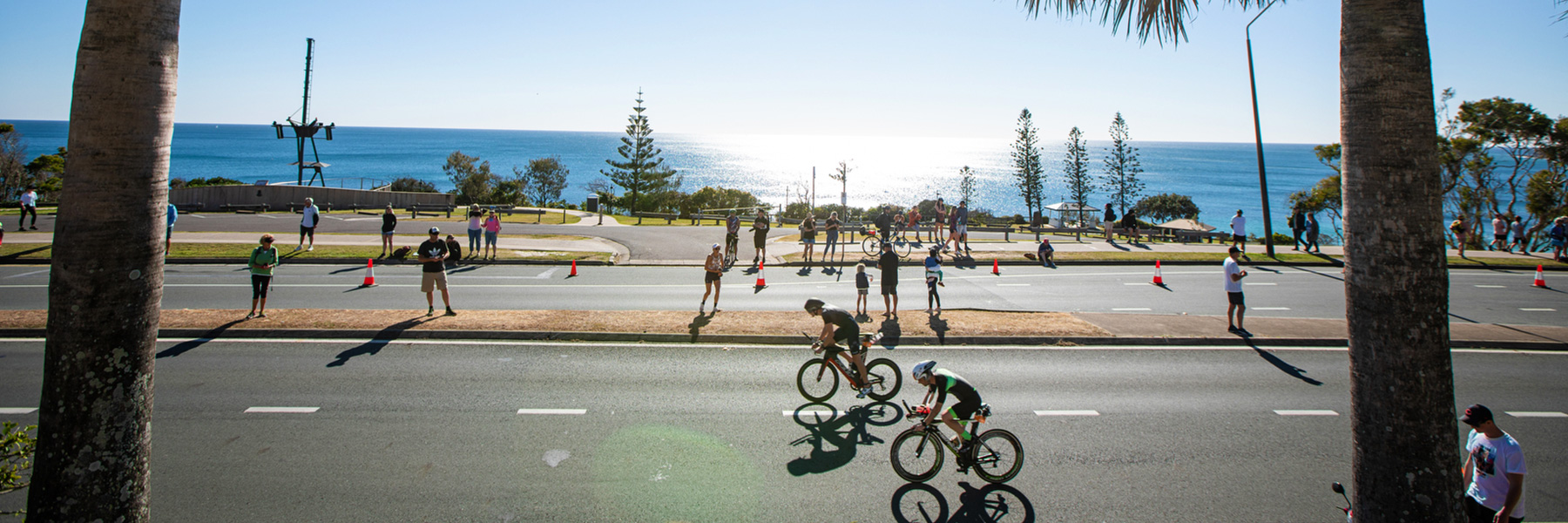cyclists participating 70.3 Sunshine Coast