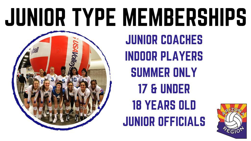 Junior Memberships Graphic