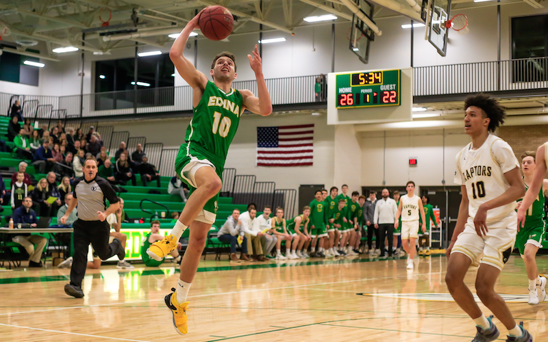 Victories over marquee teams haven't come yet for Edina, which is just 1-7 against ranked Class 4A teams. The Hornets' only win was over Hopkins four weeks ago, and they will try for a repeat on Tuesday. Photo by Mark Hvidsten, SportsEngine