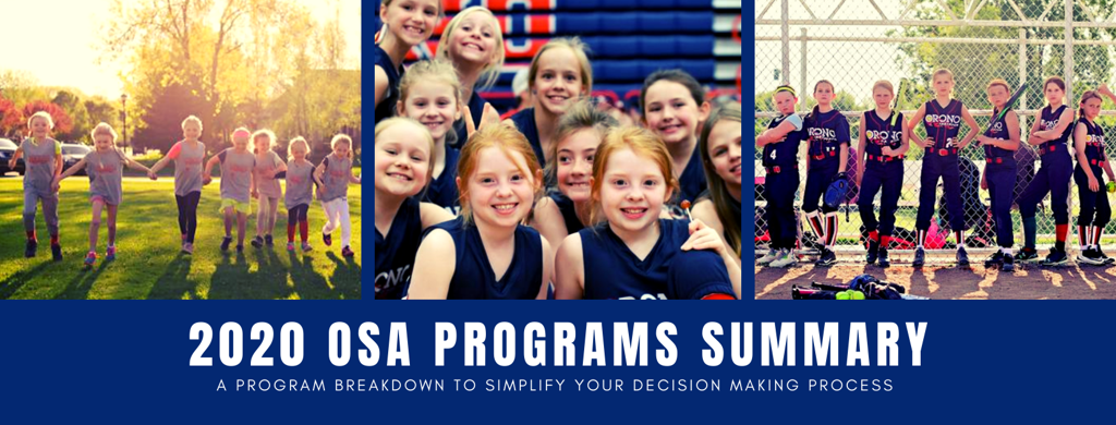 2020 OSA PROGRAMS SUMMARY