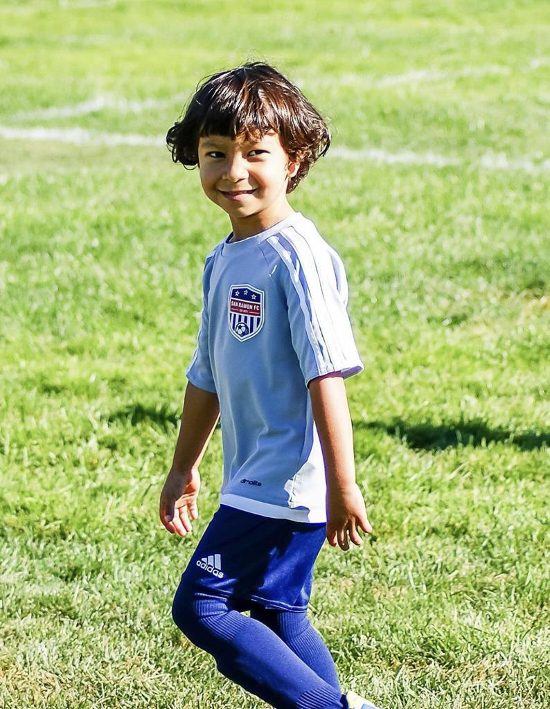 San Ramon FC youth soccer player