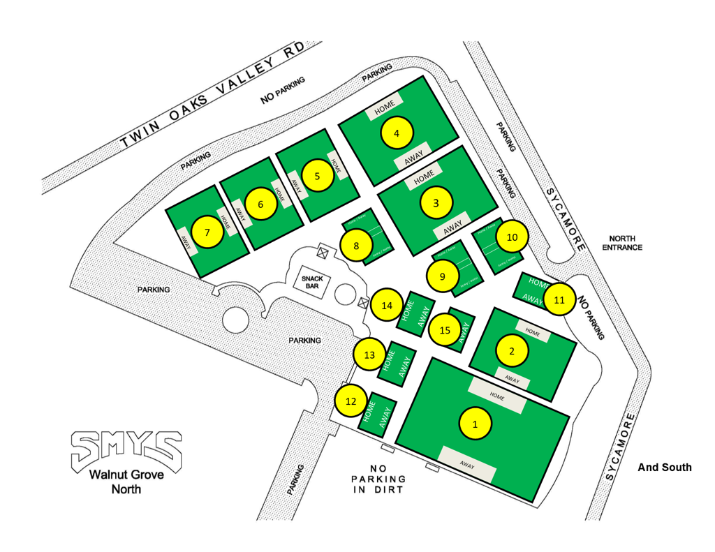 SMYS Field Layout - North Walnut Grove