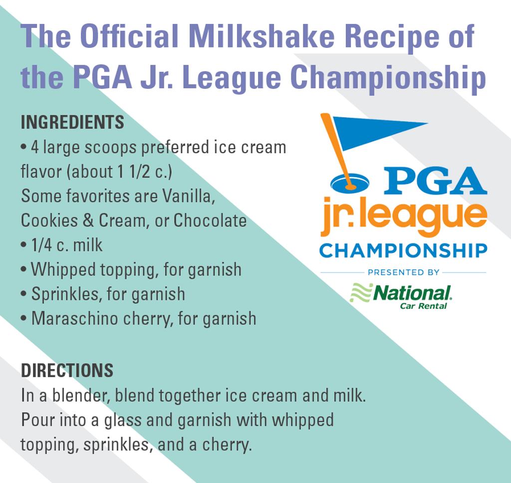 Championship Milkshake Recipe