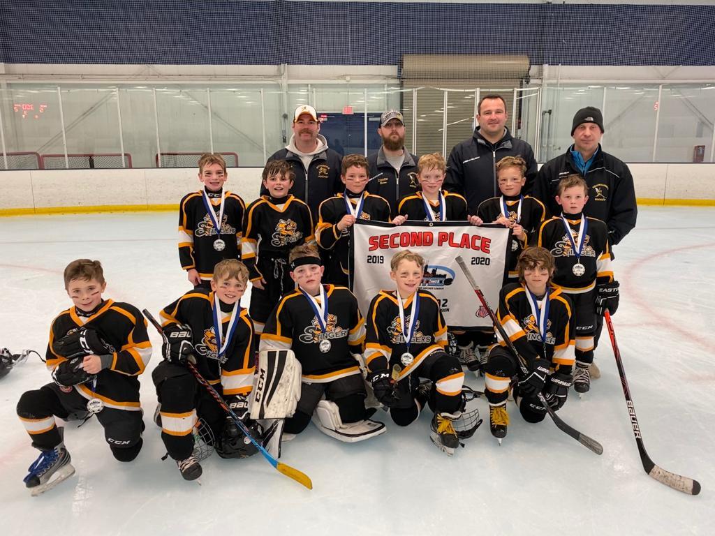 2019-20 Stingers Team 1-CUHL Super Sunday Championship Game