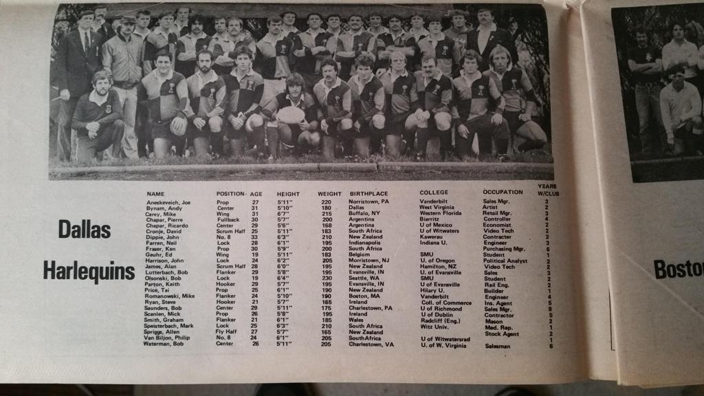 1984 dallas harlequins large