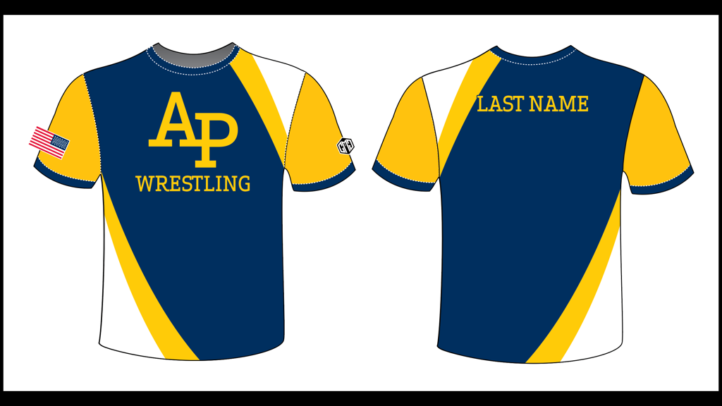AP Wrestling Dri-Fit T-shirt (included with registration)