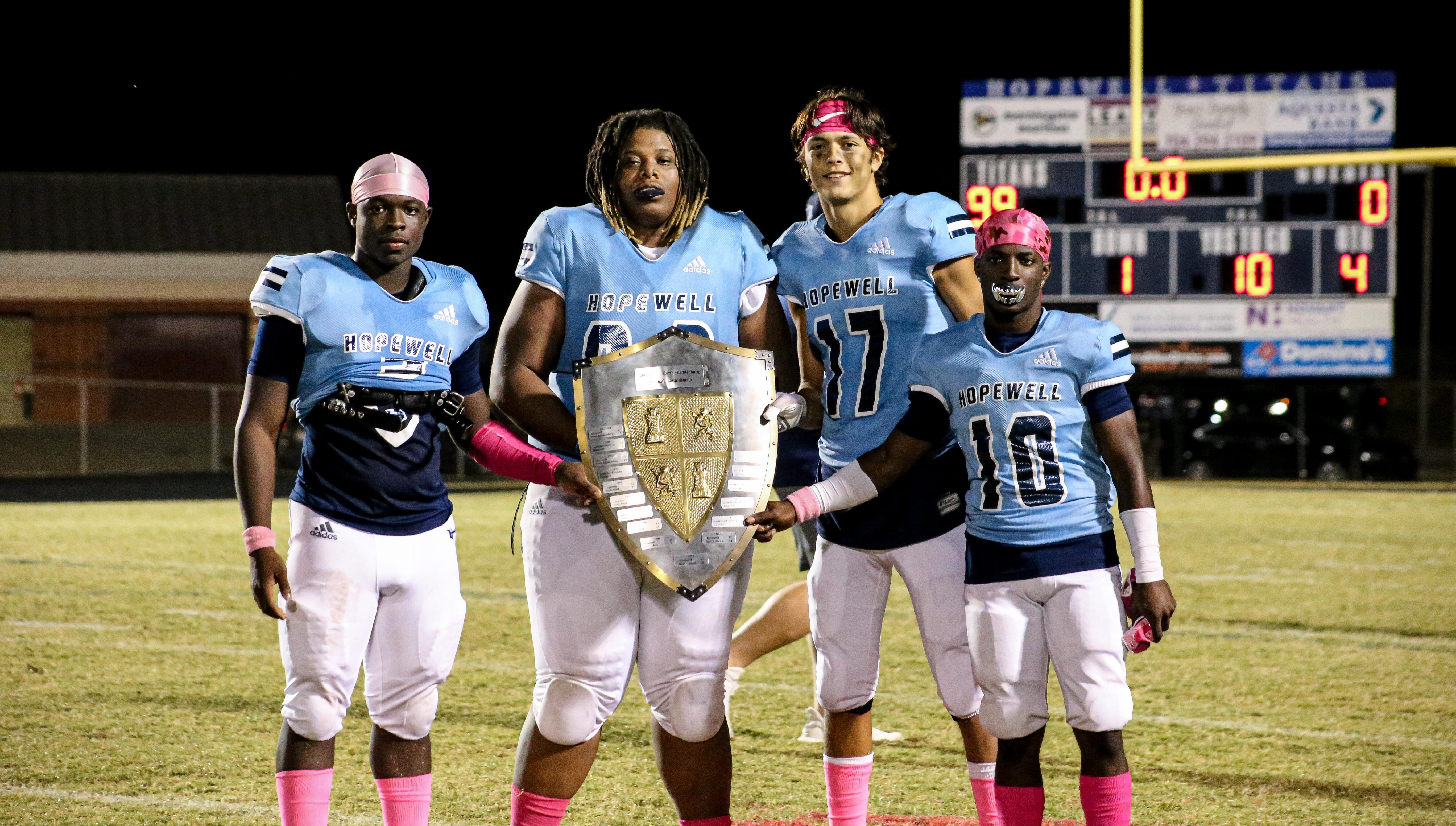 THANK YOU SENIORS OF C/O 2020... THE SHIELD IS BACK !!!
