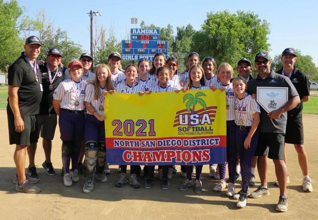 Congrats to Carlsbad 12U Silver — 2021 North San Diego C District Champions! — Good Luck at State!