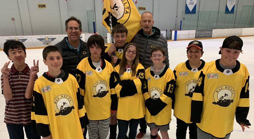 This Year's Community Assistance Awardee - San Diego Special Hockey Program