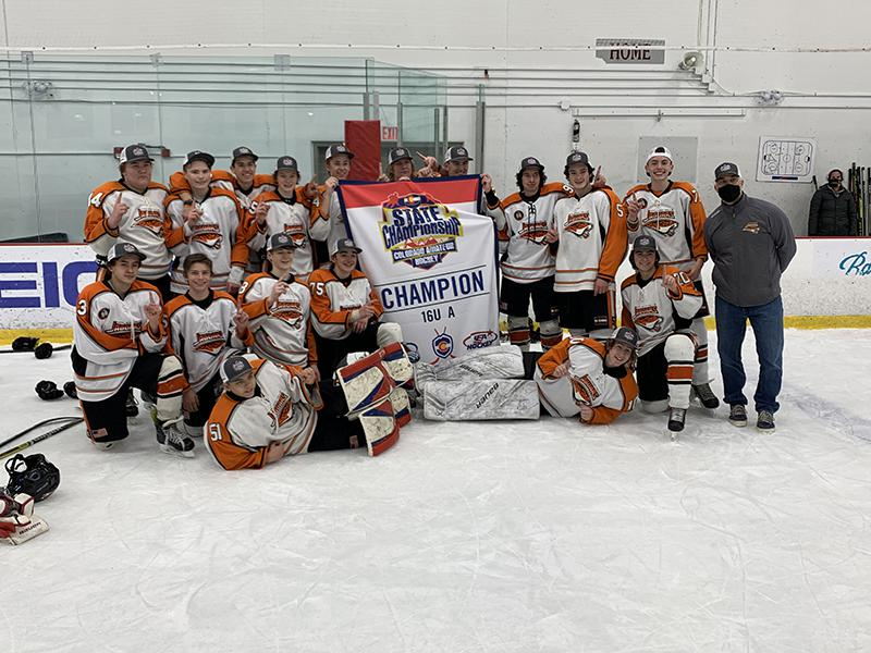 16U A champion Hyland Hills Hockey Association