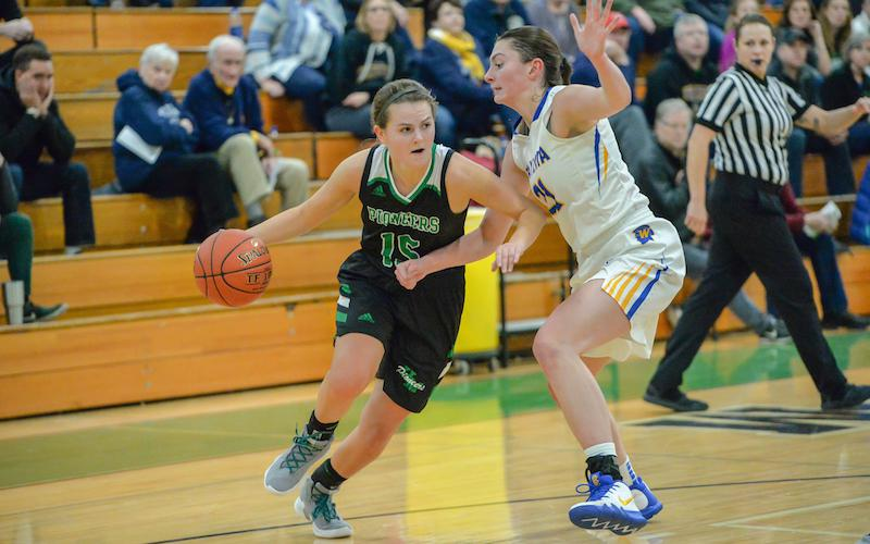 Metro East Conference-leading Hill-Murray visits league challenger Simley on Friday, with the winner grasping control of the reins in the race for a conference title. Photo by Earl J. Ebensteiner, SportsEngine