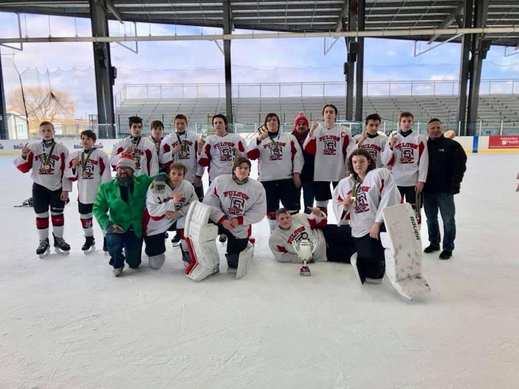 Fulton Bantams win the Championship in the Buffalo Riverworks Tournament