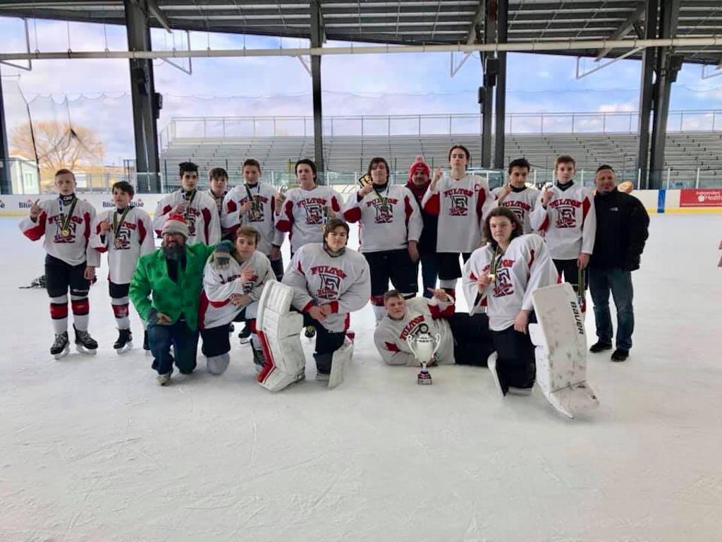 Fulton Bantams win the Championship in the Buffalo Riverworks Tournament