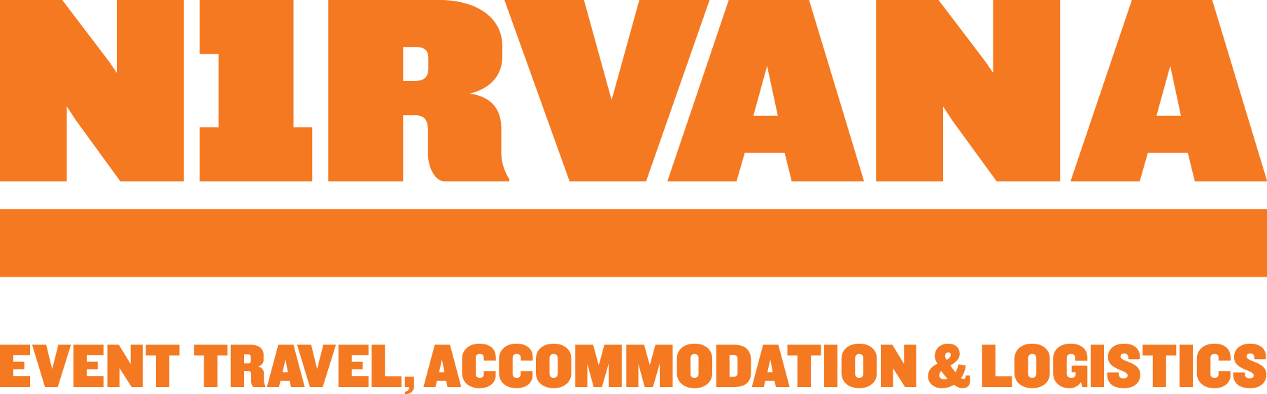 Official Nirvana Event Travel, Accommodation and Logistics partner logo