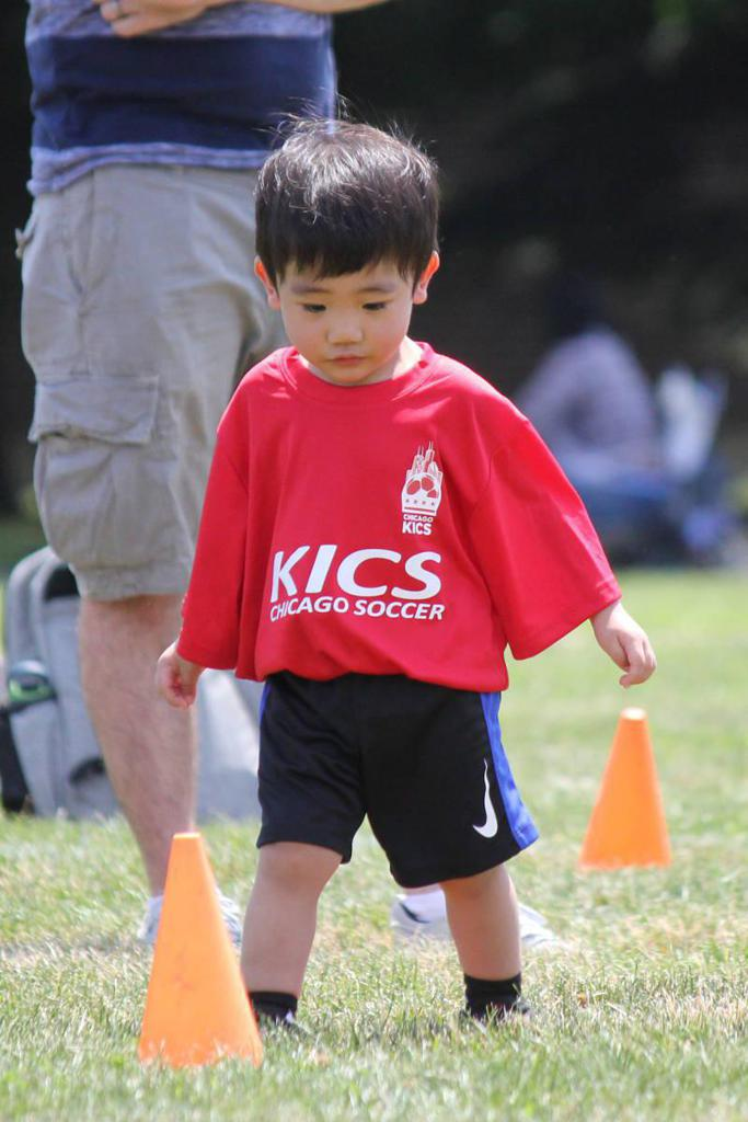 young toddlers player