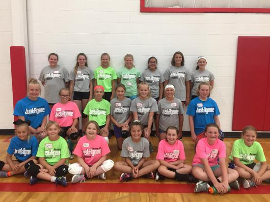 Thanks to everyone who attended our JustAgame Volleyball Day Camp!