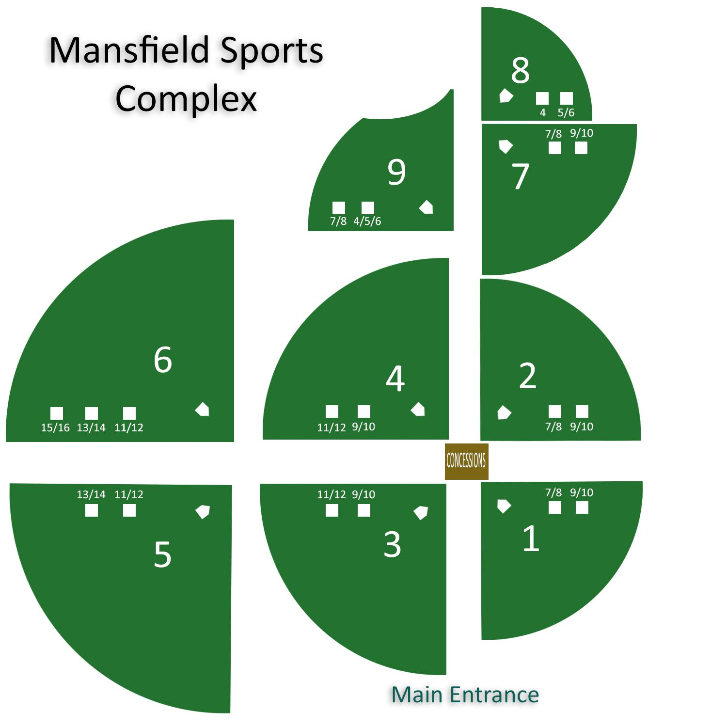 Sports Complex Layout