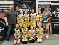 6th Grade Girls Win in Northville (2/23/19)