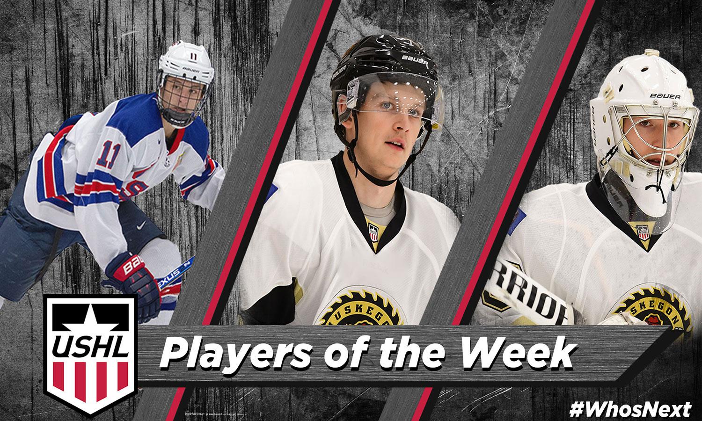USHL: Players Of The Week - Week 8, 2018-19