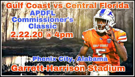 2020 APDFL Commisioner's Classic set for Feb. 22nd