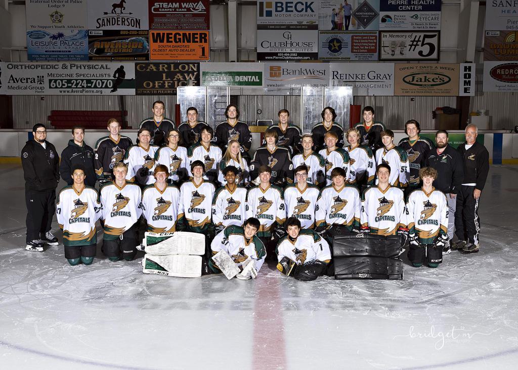 Oahe Capitols Varsity and Junior Varsity 2019-2020